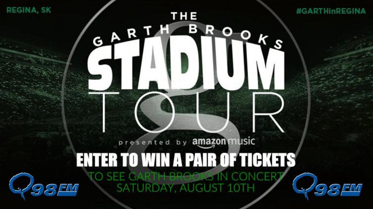 Win tickets to Garth Brooks! | Q98 - Saskatchewan's Hit Music